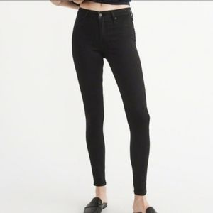 Abercrombie & Fitch Harper Low Rise jean jegging